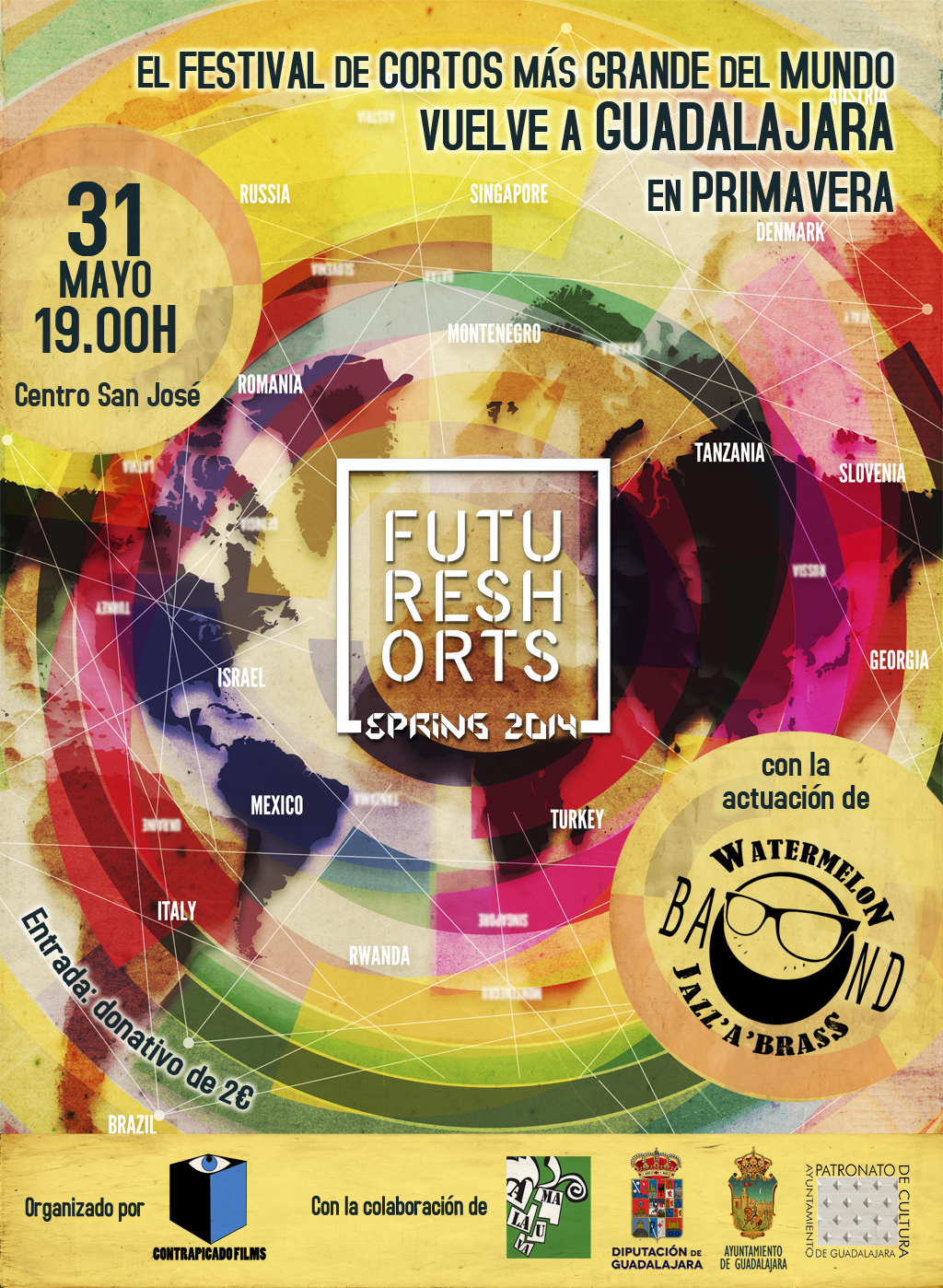 Cartel Future Shorts Primavera 2014