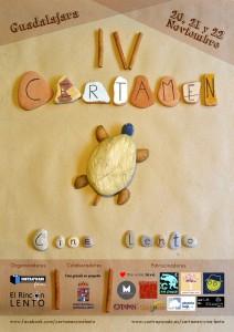 Cartel IV Certamen de Cine Lento