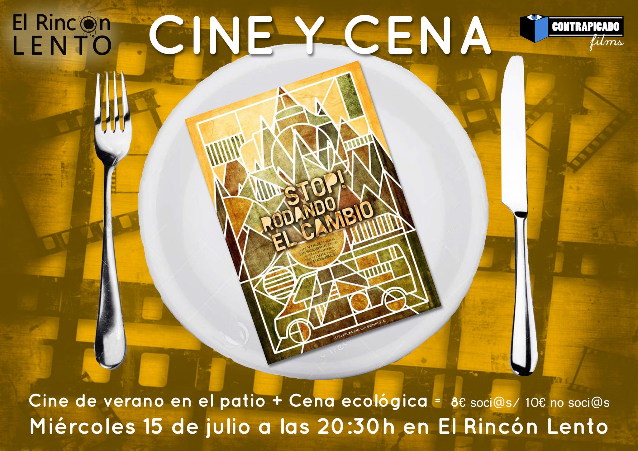 Cine y Cena STOP RODANDO EL CAMBIO web