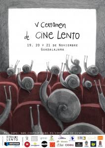Cartel V Certamen Cine Lento WEB