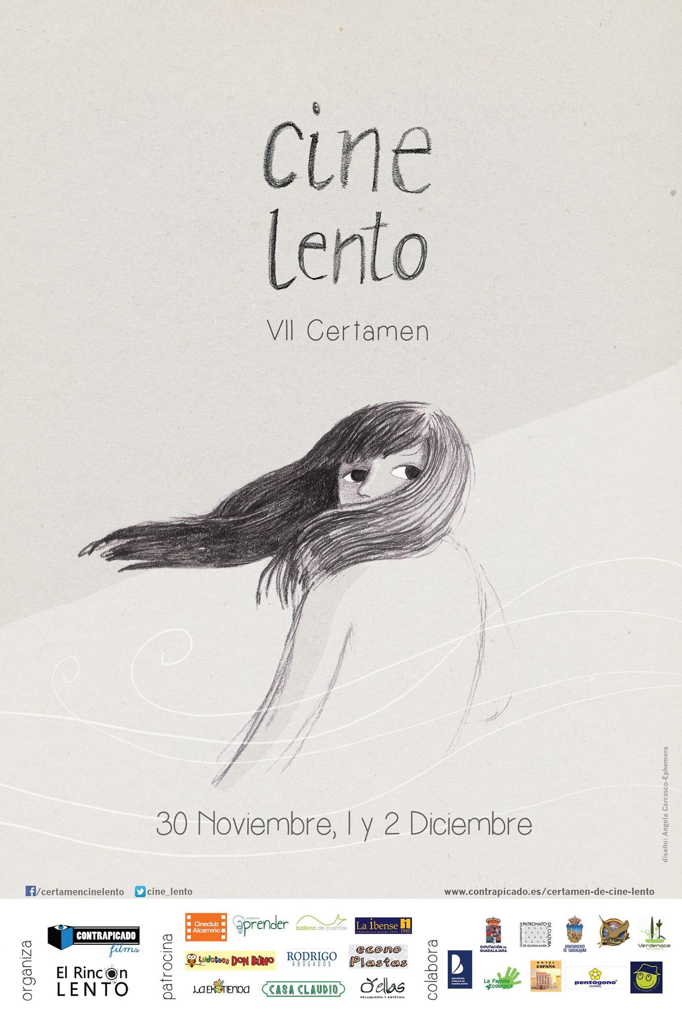 Cartel VII Certamen Cine Lento