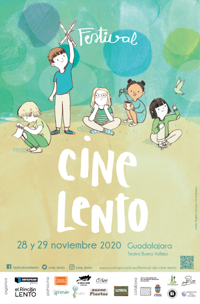 Cartel 10 Festival de Cine Lento
